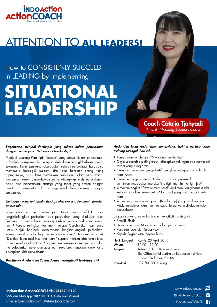 COACH CATALIA (situational leadership)