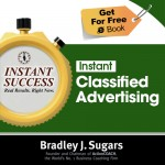 COVER E-BOOK (Classified Advertising) - Instant Success - Bradley J. Sugars (Brad Sugars)