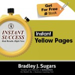 COVER E-BOOK (YELLOW PAGES) - Instant Success - Bradley J. Sugars (Brad Sugars)